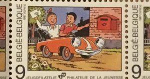 Suske en Wiske nieuwsbrief postzegel