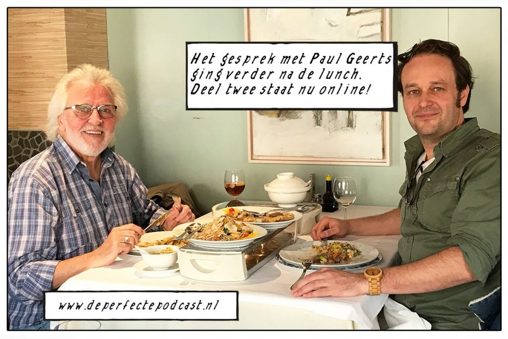 Paul Geerts lunch chinees perfecte podcast