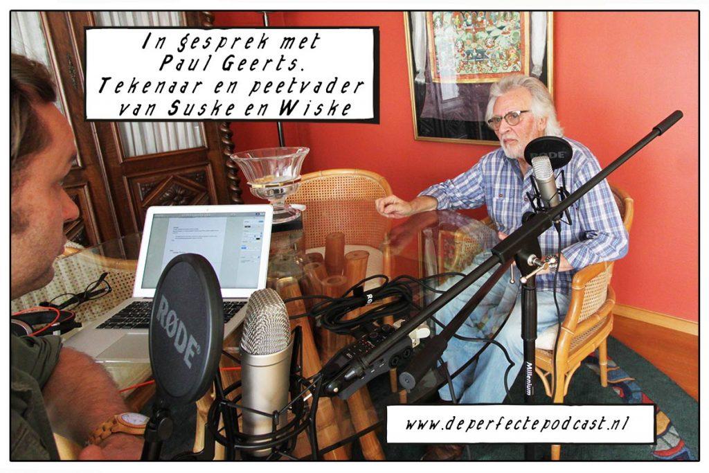 Paul Geerts Suske en Wiske De Perfecte Podcast