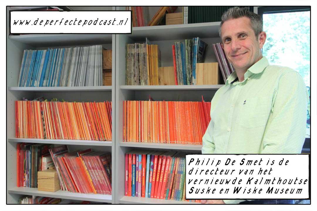 Directeur van het Suske en Wiske museum, Philip De Smet