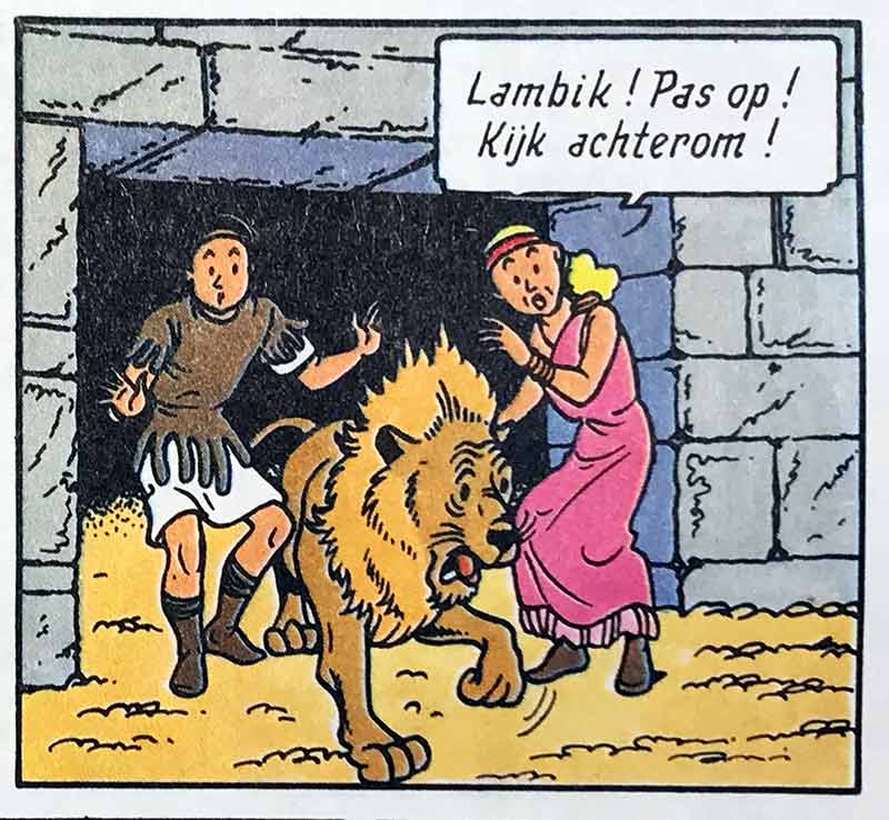 Titus de Leeuw Het Geheim van de Gladiatoren Suske en Wiske