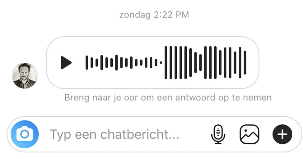 Instagram audiobericht