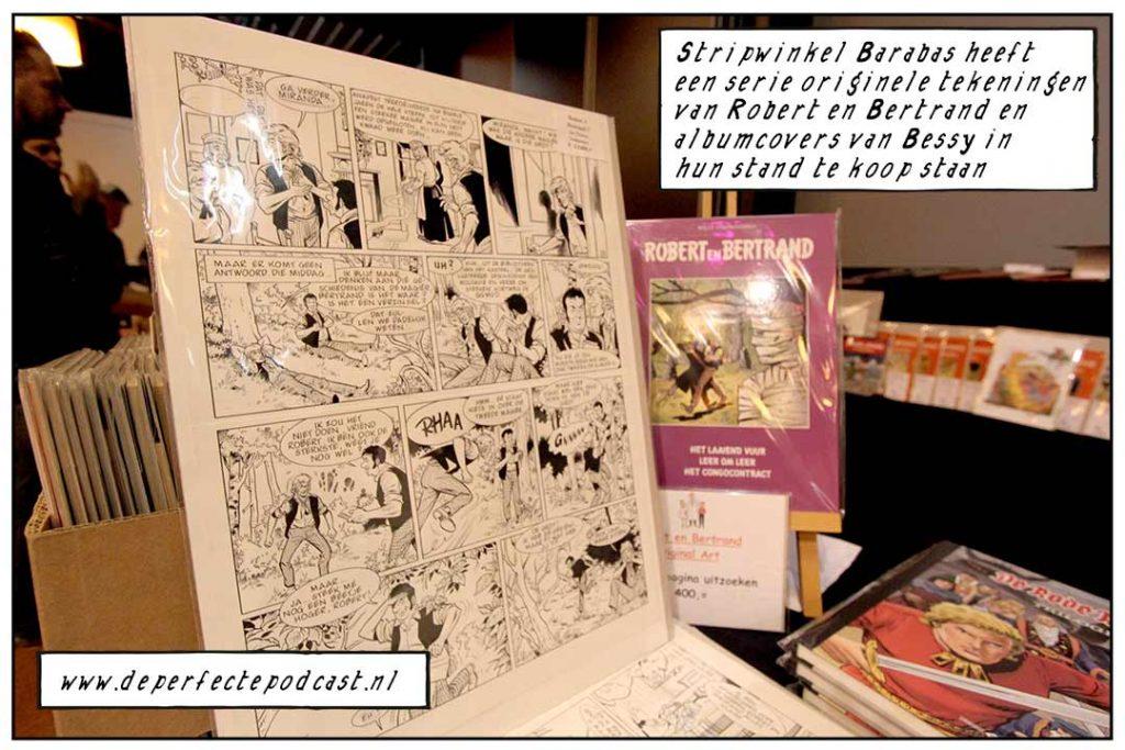 Robert en Bertrand tekening Prof Barabas 's Gravendeel