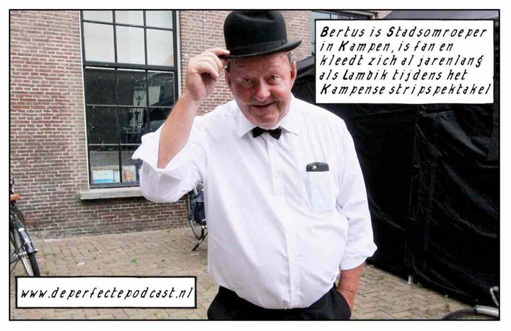 Stadsomroeper Kampen Bertus