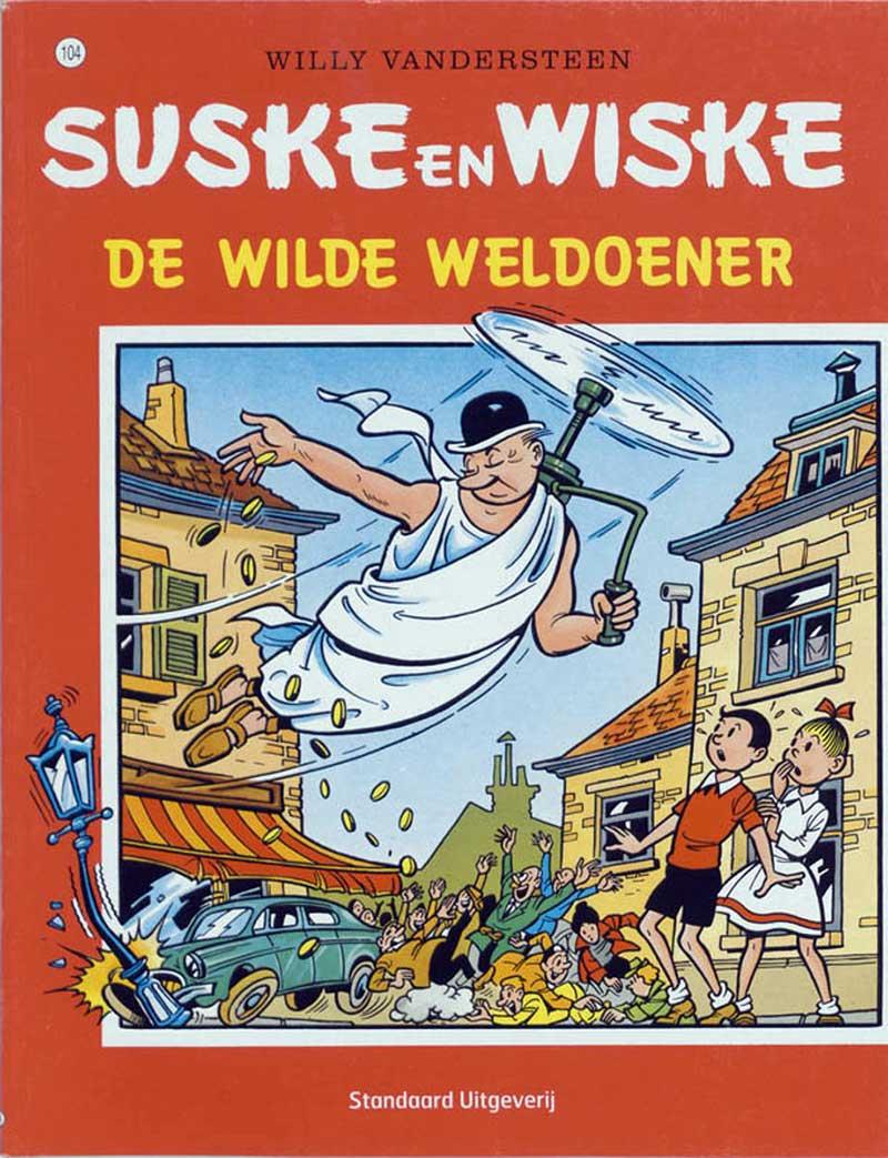 Suske en Wiske - De Wilde Weldoener