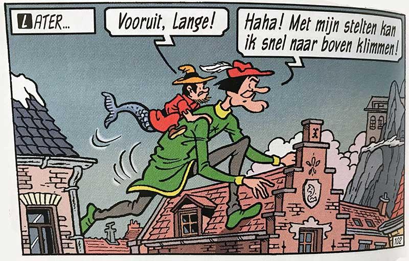 Suske en Wiske Kludde en Lange Wapper Antwerpen