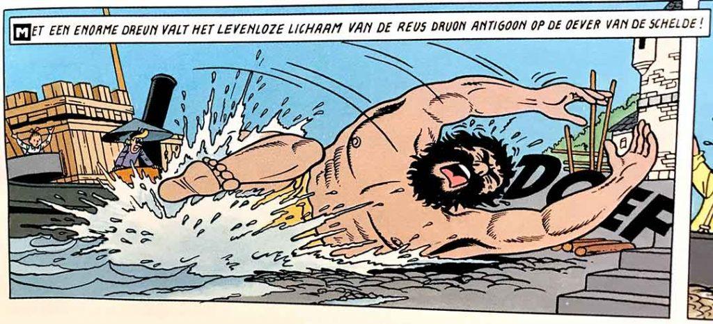 Druon Antigoon Antwerpen