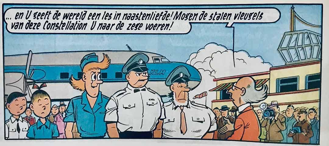 De Gouden Cirkel Suske en Wiske KLM