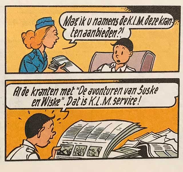 Suske en Wiske KLM