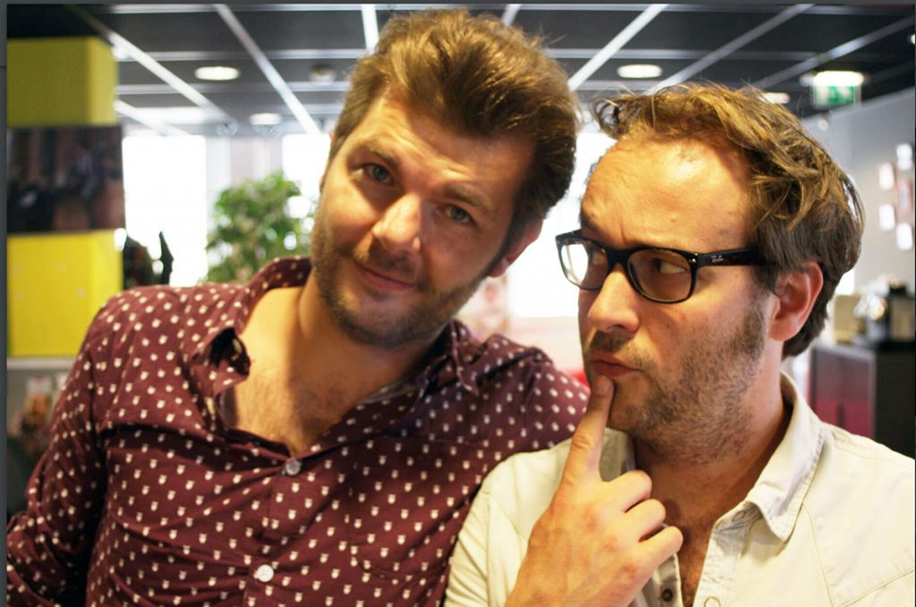 Sander Lantinga en Koen Maas Coen en Sander