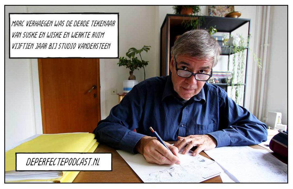 Marc Verhaegen Suske en Wiske Studio Vandersteen Senne en Sanne