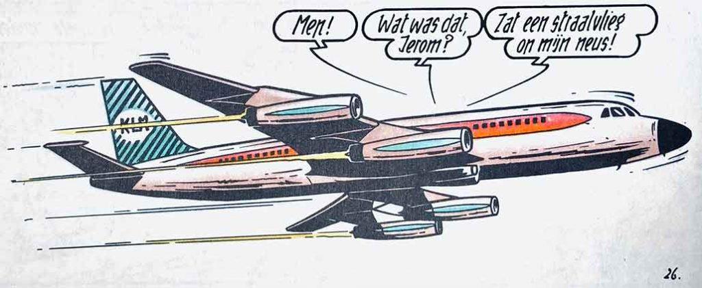 KLM Suske en Wiske De Sissende Sampan