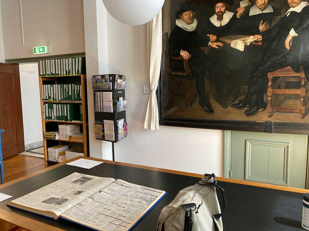 Gooise Meren archief in Naarden Vesting