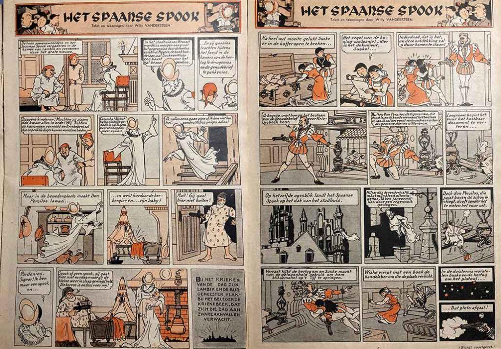 Het Spaanse Spook Kuifje Hergé Blauwe Reeks