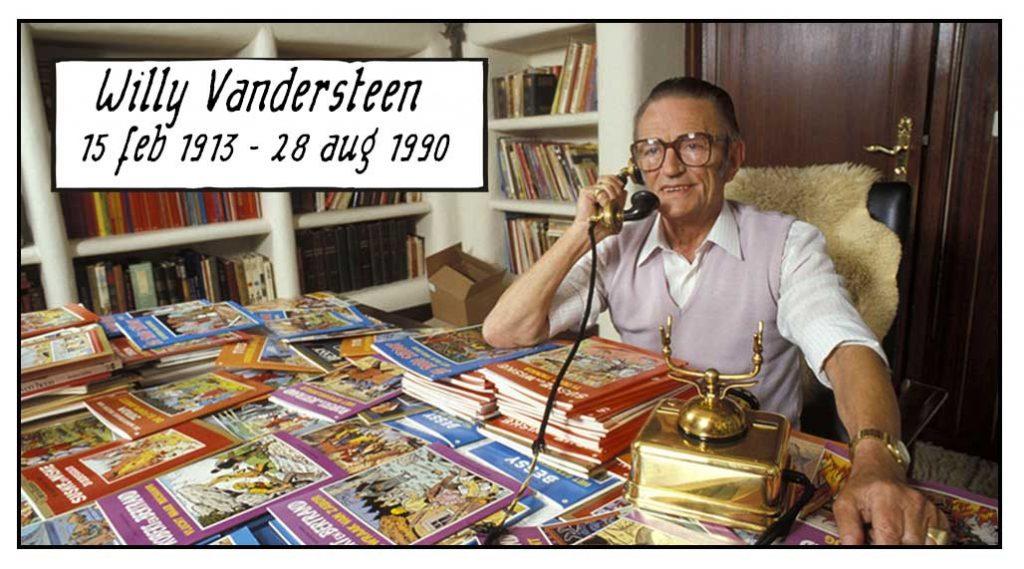 Willy Vandersteen dertigste sterfdag