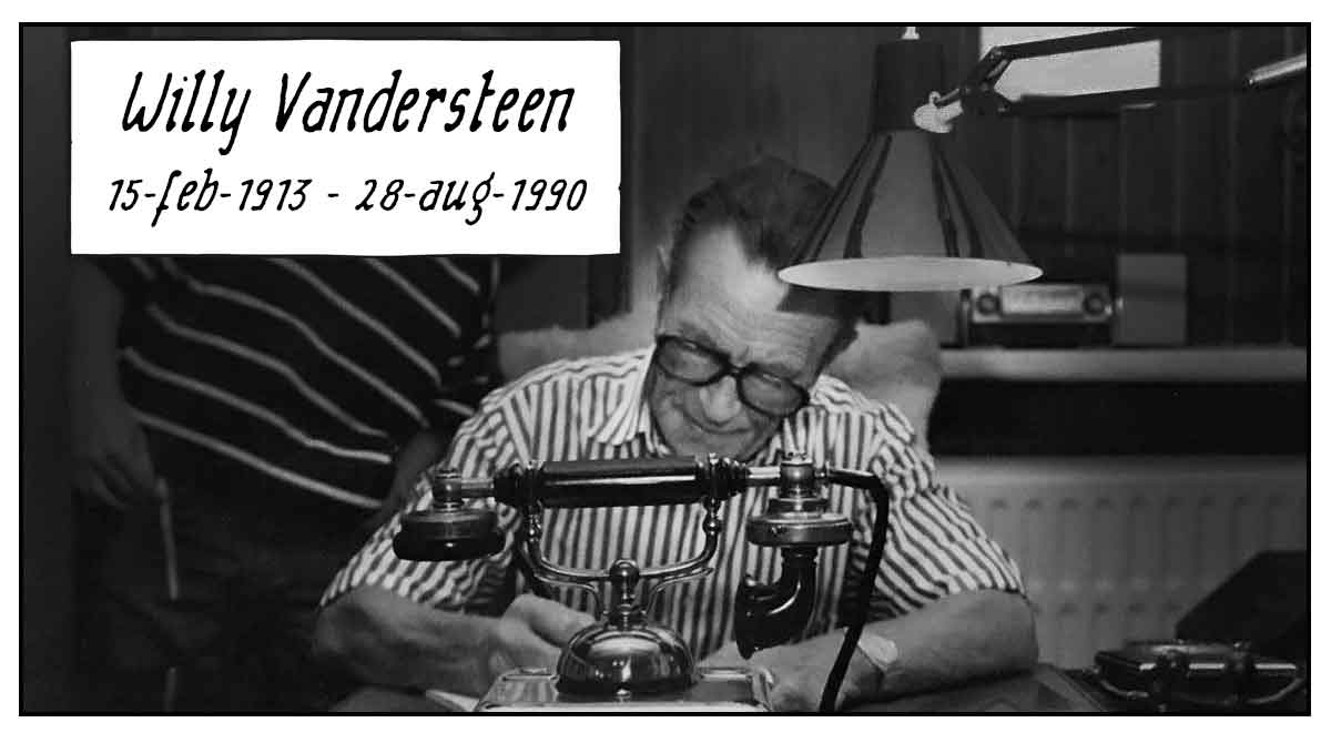 30ste sterfdag Willy Vandersteen