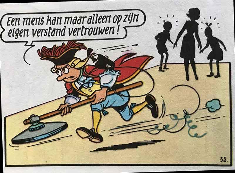 Suske en Wiske - De kaartendans - Van Zwollem