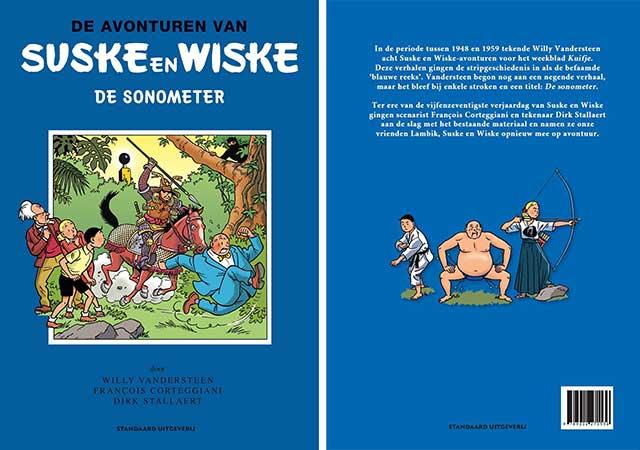 De Sonometer Suske en Wiske cover en rug