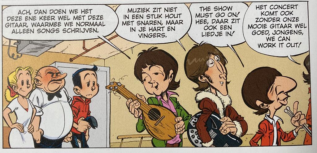 Beatles Suske en Wiske Gerben Valkema