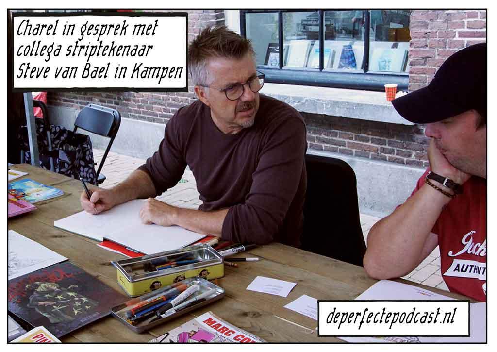 Charel Cambré Steve van Bael Kamper Stripspektakel 2019