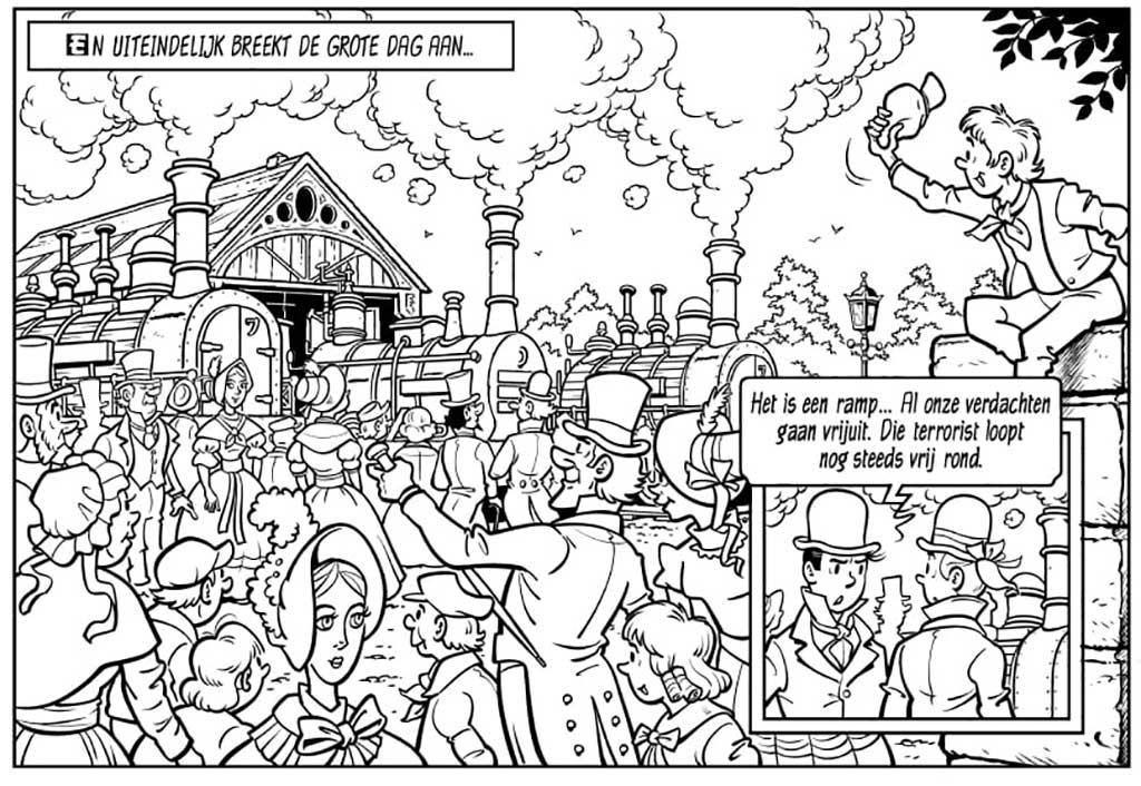 Suske en Wiske - De Fluitende Olifant Locomotief