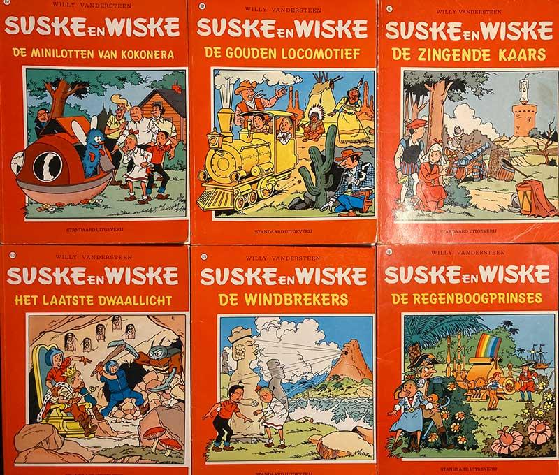 Suske en Wiske poppenserie albums