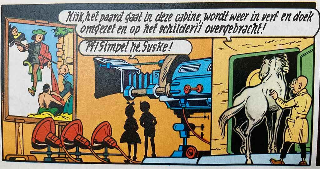 De Teletransfor Professor Barabas Suske en Wiske Sint Maarten Jan van Dyck