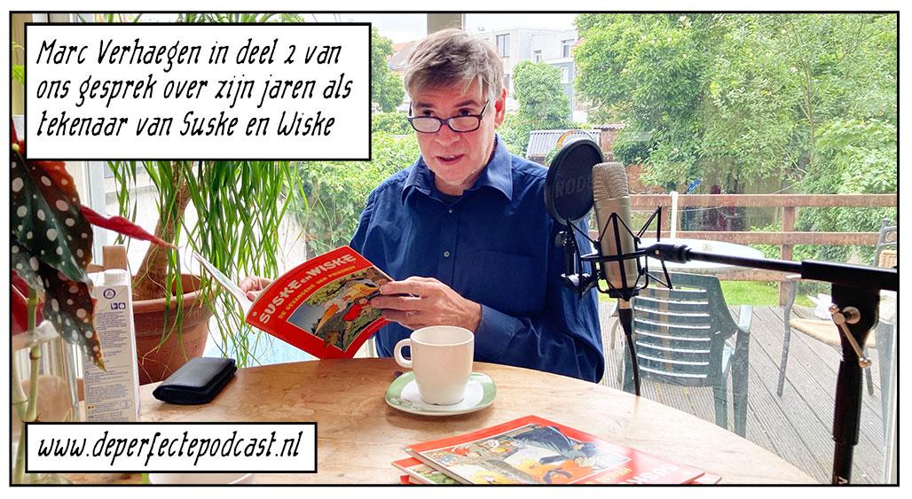 Marc Verhaegen Suske en Wiske De Perfecte Podcast