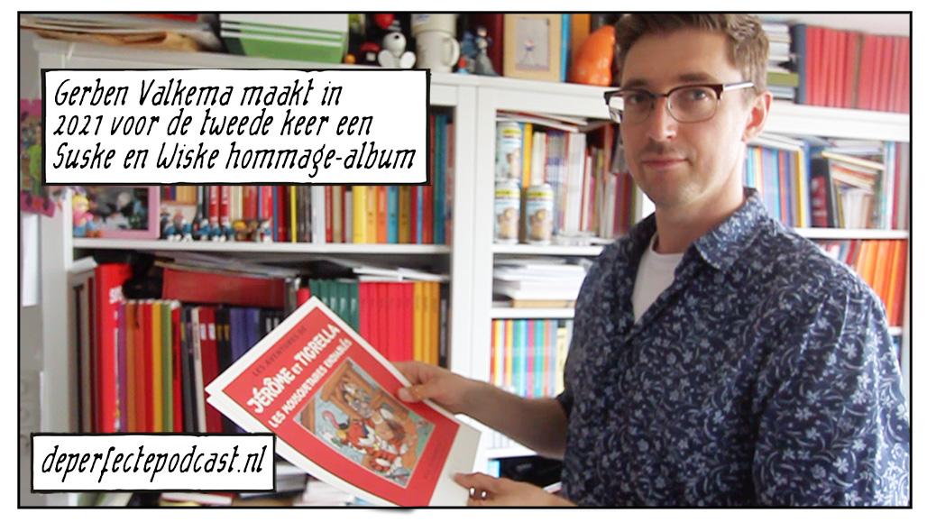 Gerben Valkema Suske en Wiske hommage-album Yann Le Pennetier cromimi
