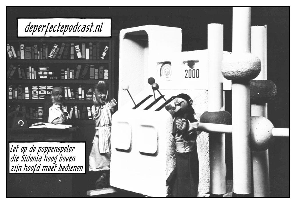 Teletijdmachine Suske en Wiske poppenkastserie Wies Andersen Willy Vandersteen