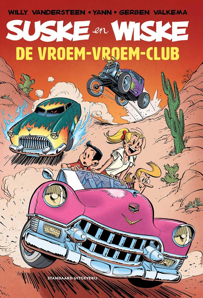 De Vroem-Vroem-Club softcover klein Gerben Valkema Suske en Wiske hommage-album