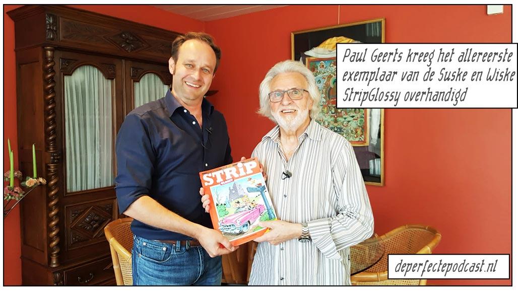 Koen Maas Paul Geerts StripGlossy Suske en Wiske De Perfecte Podcast Willy Vandersteen